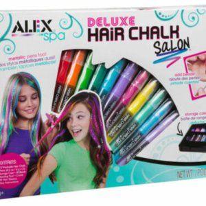 ALEX Toys Deluxe Hair Chalk Salon Kit Girl's Salon